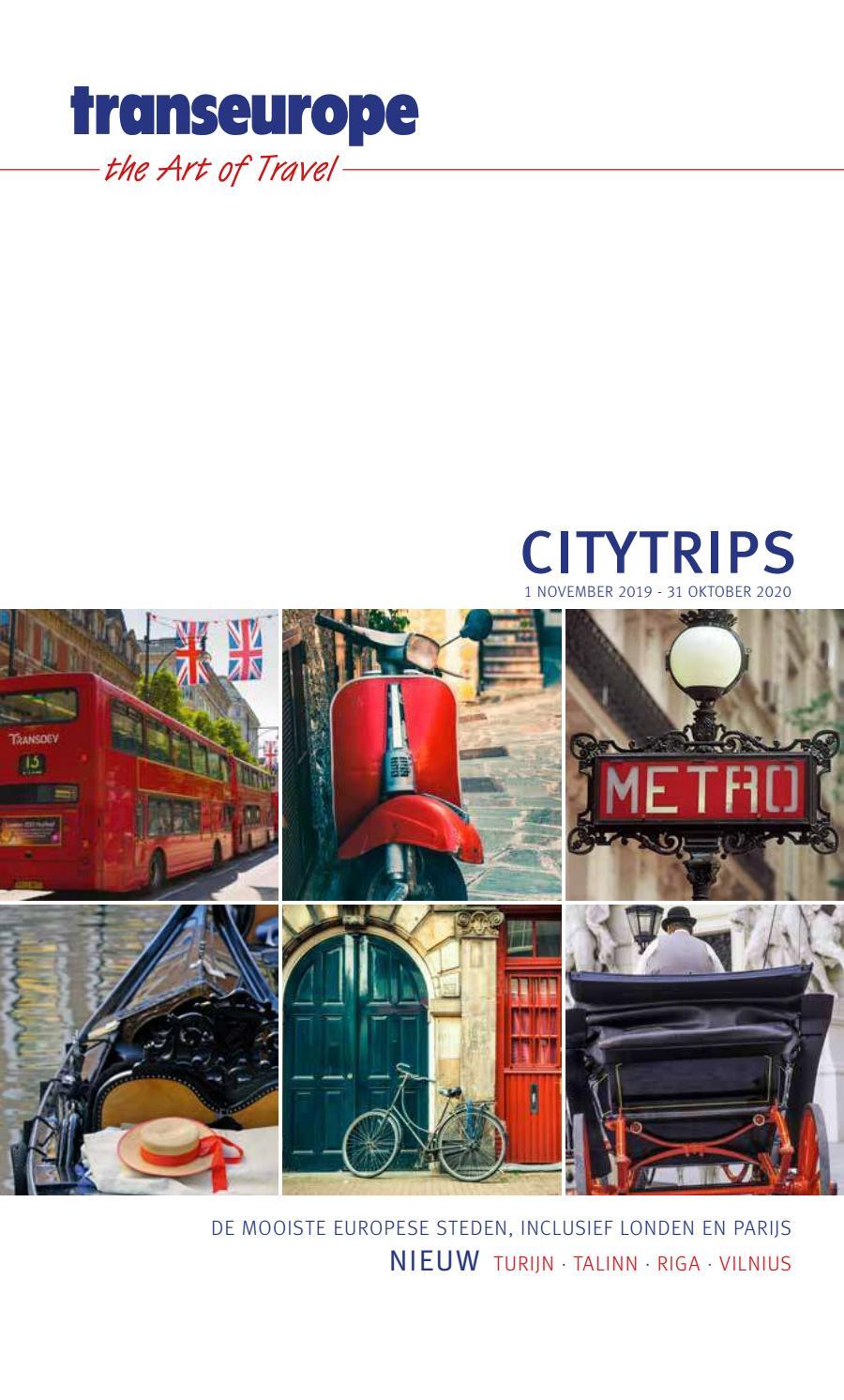 Citytrips 19 20 Nl By Te Hl Issuu