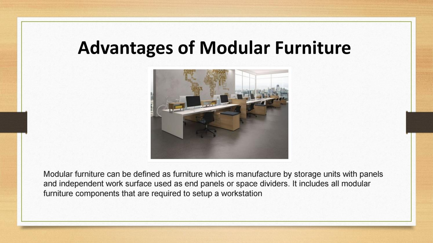 Advantages Of Modular Furniture By