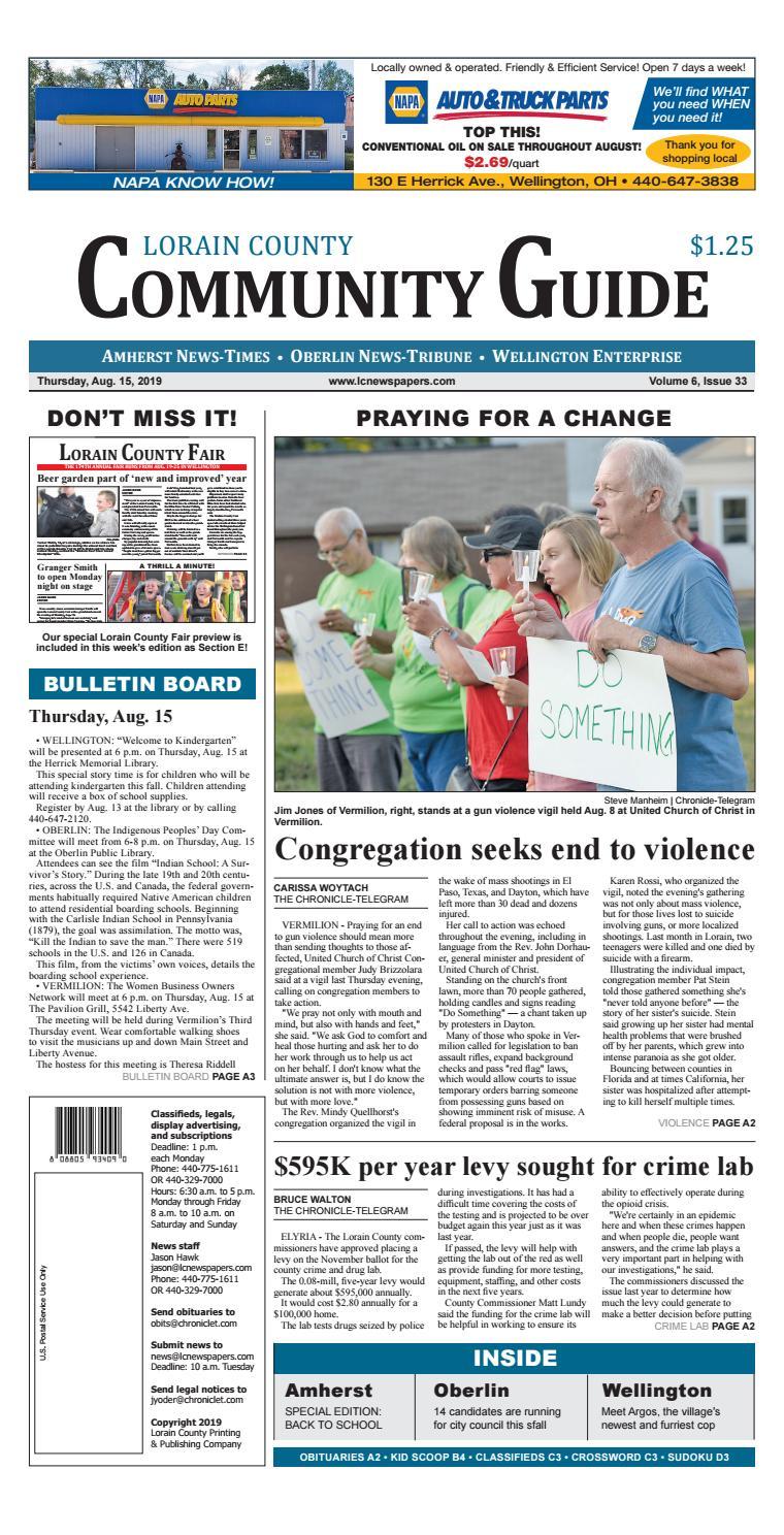 Lorain County Community Guide - Aug  15, 2019 by Lorain