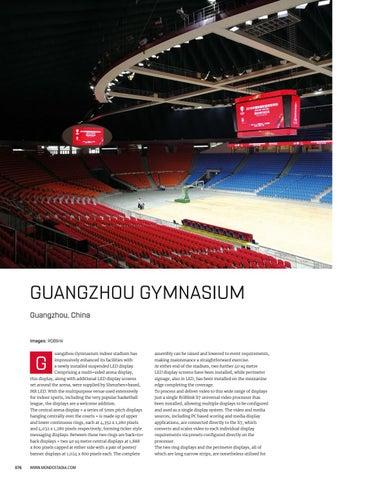Page 76 of Video Venue Focus: Guangzhou Gymnasium