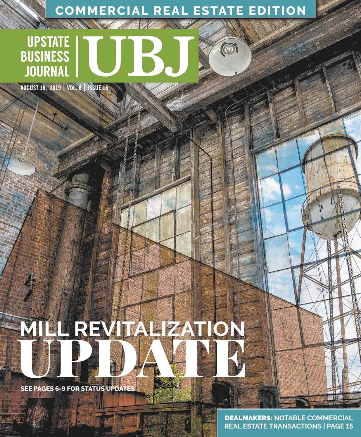 August 16, 2019 Upstate Business Journal by Community