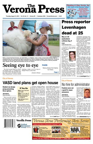 8/15/19 Verona Press by Woodward Community Media - issuu