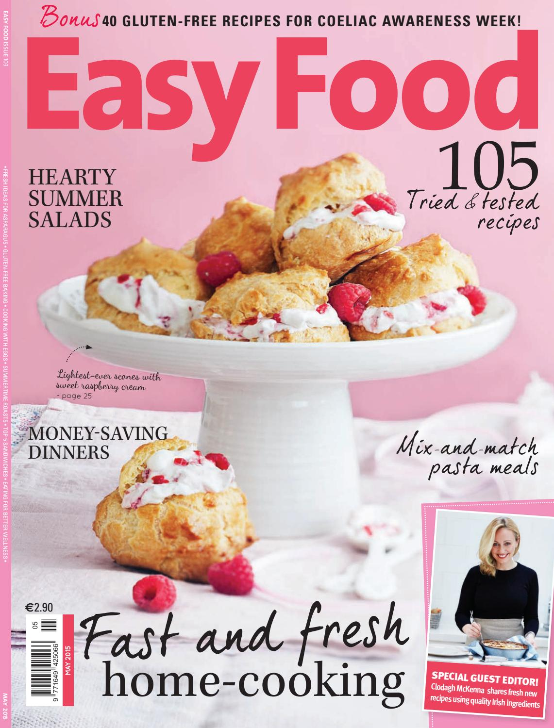 Easy Food Issue 103 By Zahra Media Group Issuu