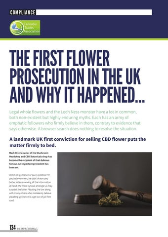 Page 138 of The first flower prosecution in the UK and why.