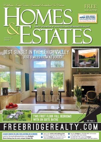 Homes \u0026 Estates Mag. Central NJ (August 15 , Sept. 11, 2019