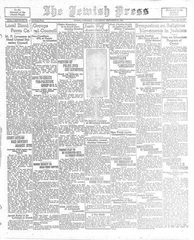December 30, 1931 by Jewish Press - issuu