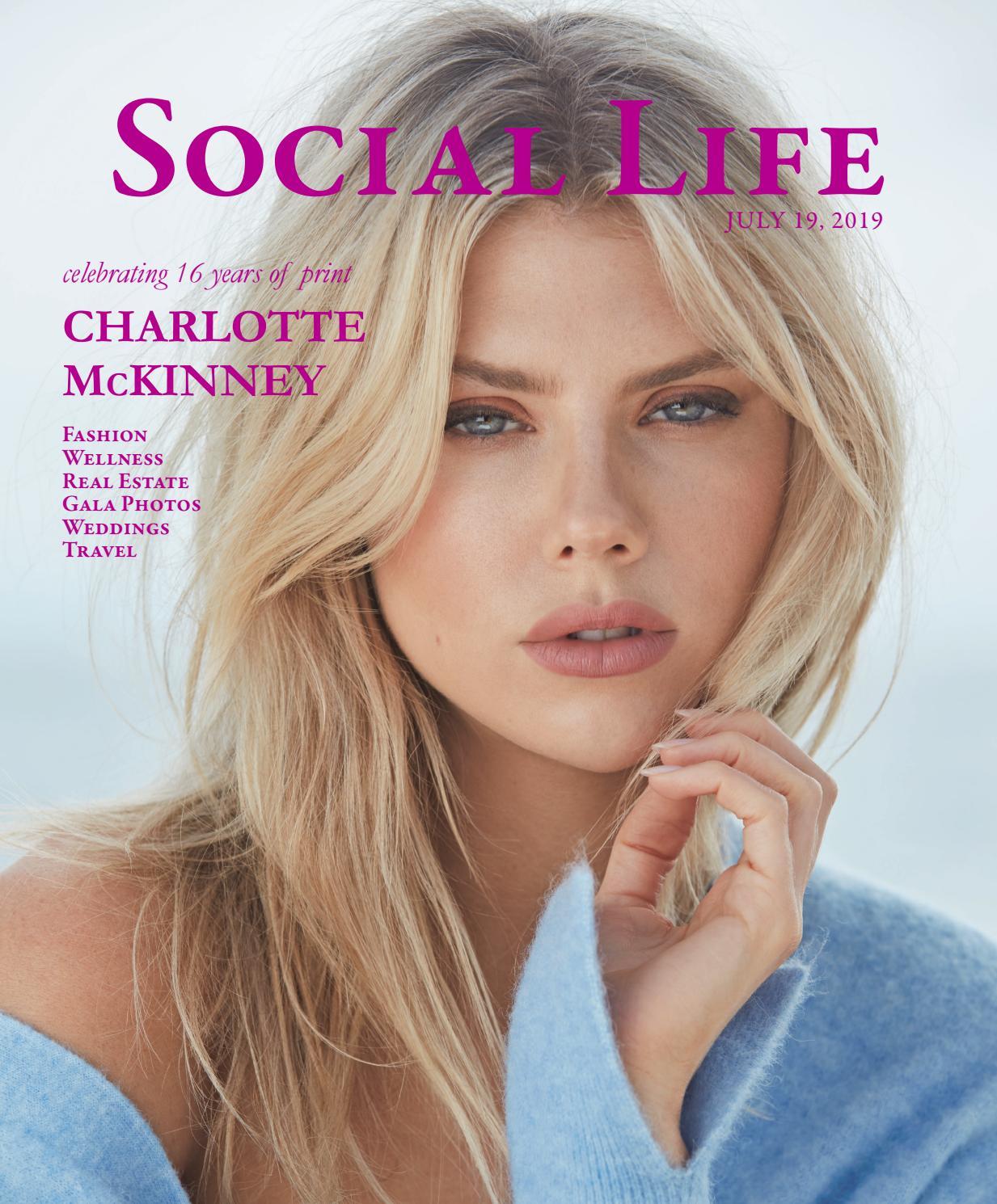 Social Life - July 19 2019 - Charlotte McKinney by Social