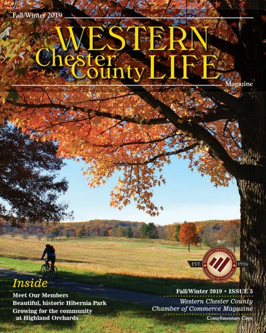 Western Chester County Life Fall Winter 2019 By Ad Pro Inc
