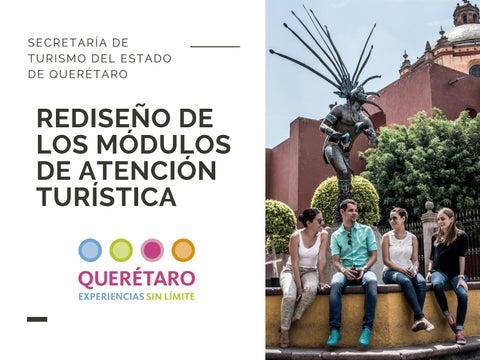 Concurso Rediseño De Los Módulos De Atención Turística By