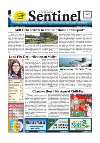 WS Aug  16, 2019 by Weekly Sentinel - issuu