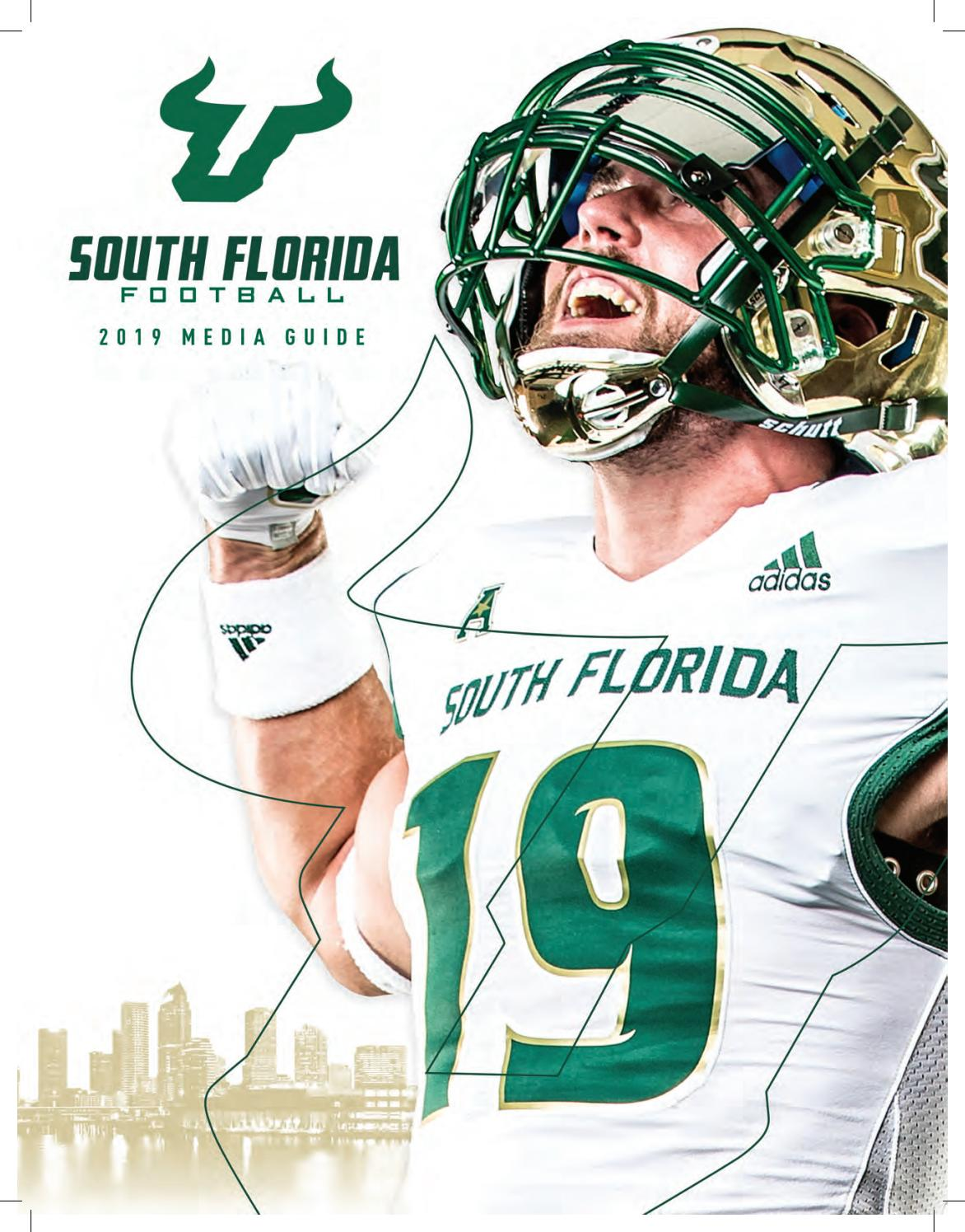5cada479 South Florida Football 2019 Media Guide by USF Bulls - issuu