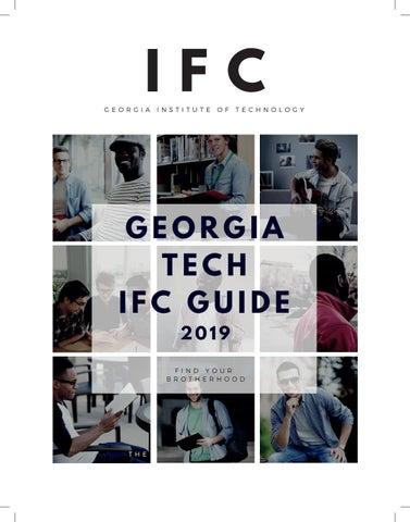 najlepsze ceny najlepszy wybór kup tanio Georgia Tech IFC Guide 2019 by Fraternity and Sorority Life ...