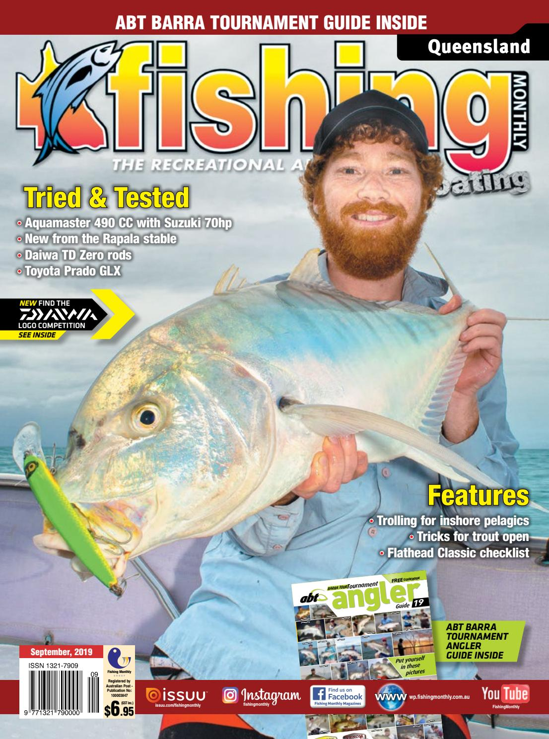 Queensland Fishing Monthly September 2019 by Fishing Monthly