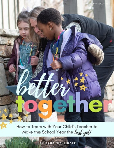 Page 18 of Better Together: How to Team with Your Child's Teacher to Make This School Year the BEST Yet!