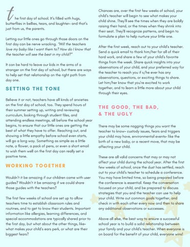 Page 19 of Better Together: How to Team with Your Child's Teacher to Make This School Year the BEST Yet!