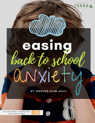 Page 20 of Easing Back to School Anxiety