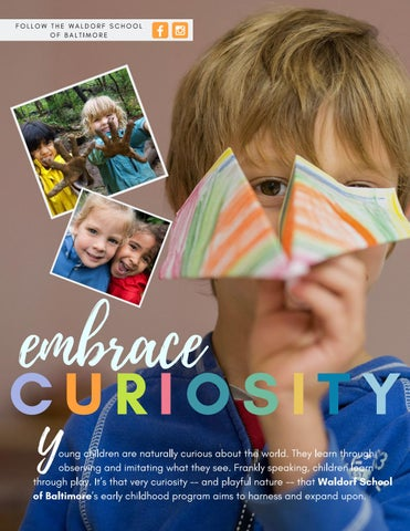 Page 38 of Embrace Curiosity at The Waldorf School
