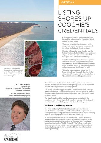 Page 20 of Listing shores up Coochie's credentials