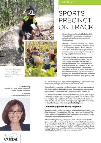 Page 22 of Sports precinct on track