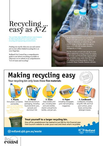 Page 24 of Recycling... easy as A-Z