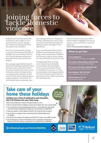 Page 31 of Joining forces to tackle domestic violence