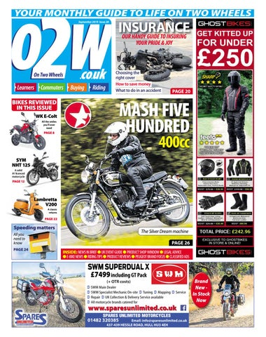 On Two Wheels September 2019 by Mortons Media Group Ltd - issuu