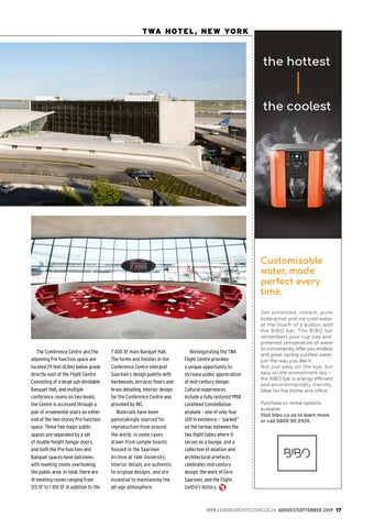 Page 17 of TWA Hotel at JFK Airport takes off