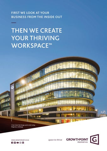 Page 41 of Exxaro's new corporate headquarters in Centurion