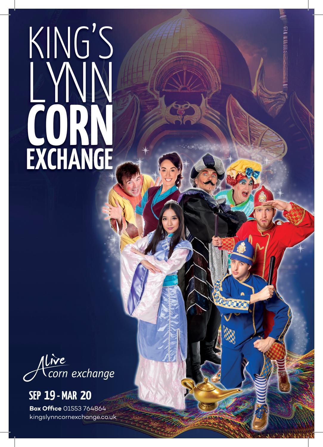 Kings Lynn Corn Exchange Brochure Sep 19 Mar 20 By Alive
