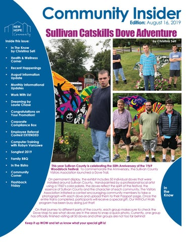Page 2 of Sullivan Catskills Dove Adventure