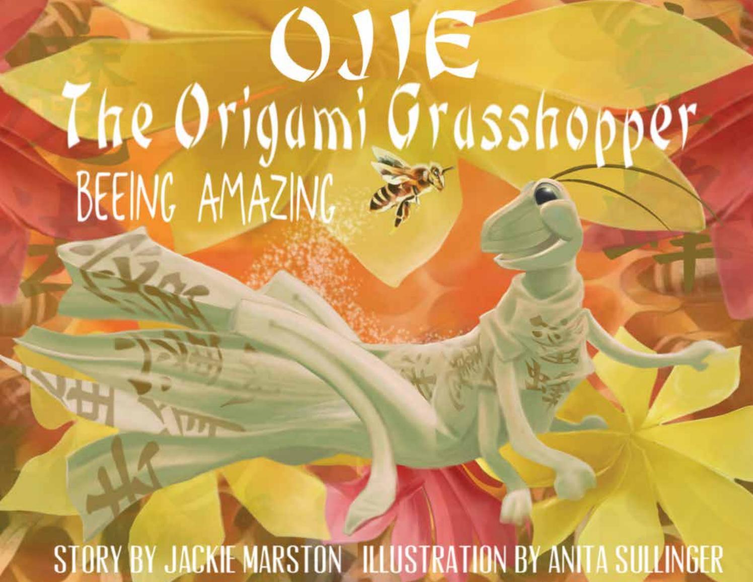 Locust Origami | Origami grasshopper, Origami insects, Origami animals | 1156x1496