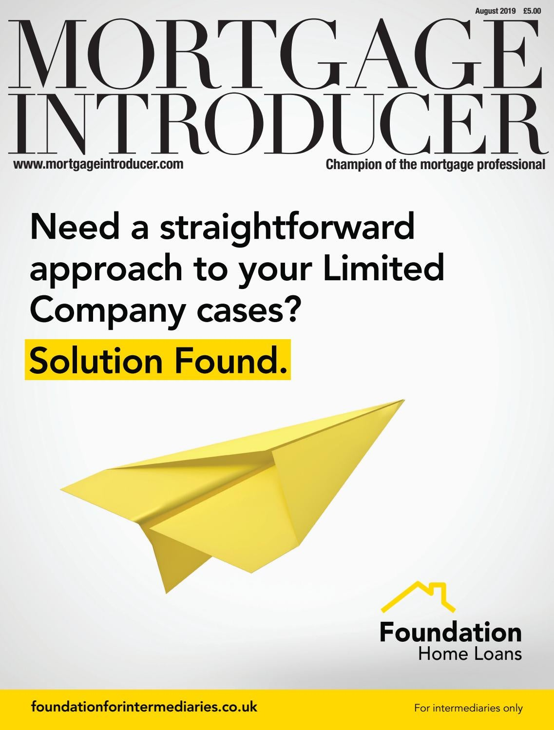 Mortgage Introducer August 2019 by mortgageintroducer - issuu