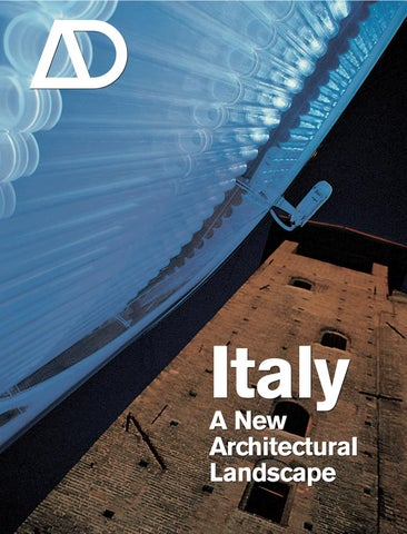 Italy_ A New Architectural Landscape by Aung Myat Kyaw - issuu