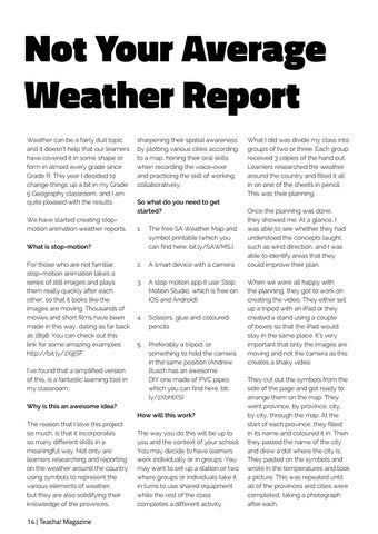Page 14 of Not your average weather report