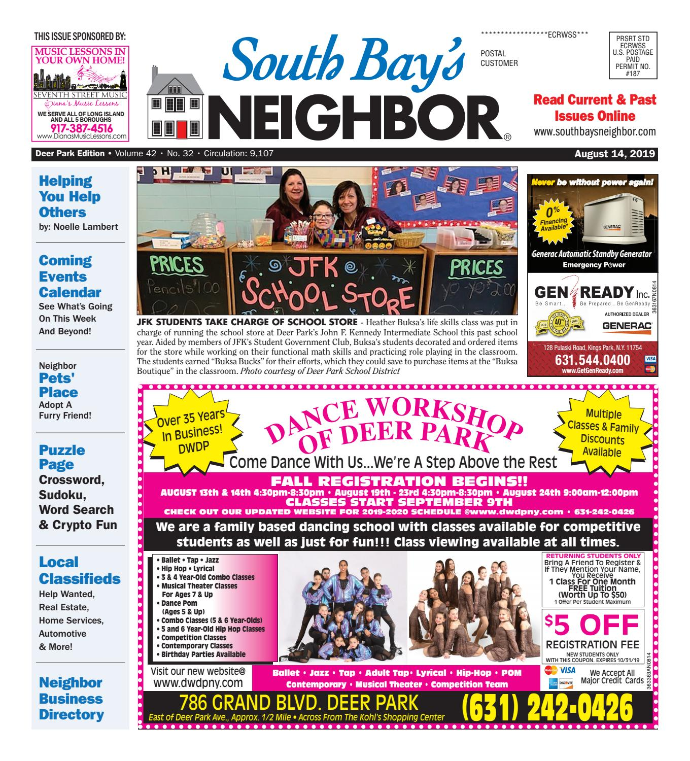 August 14, 2019 Deer Park by South Bay's Neighbor Newspapers