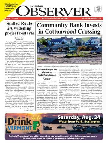 Williston Observer 8/15/19 by Williston Publishing - issuu