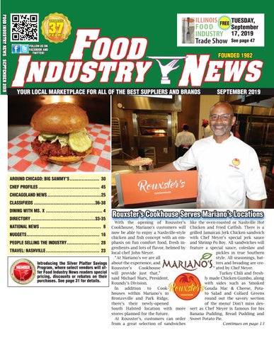 Food Industry News September 2019 web edition by