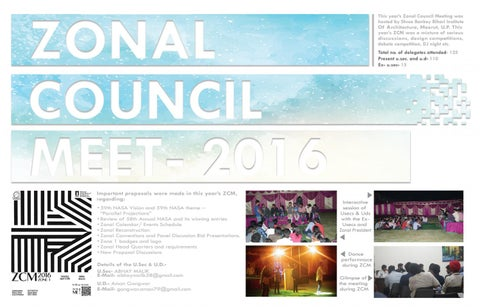 Page 5 of Zonal Newsletter 2017