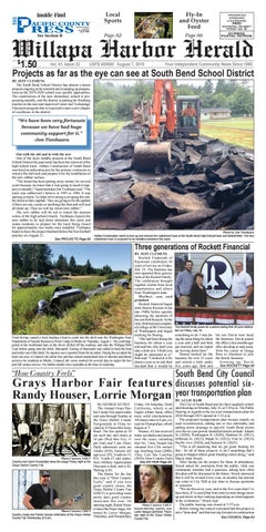 Whiteside County Fair 2020.August 7 2019 Willapa Harbor Herald And Pacific County