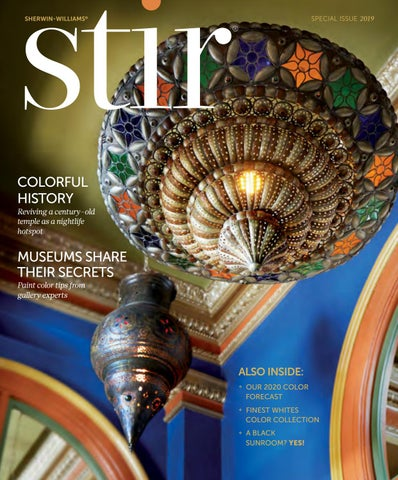 Sherwin Williams Stir Special Issue 2019 By Sherwin Williams