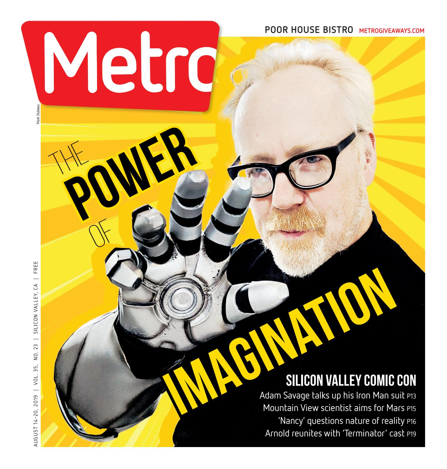 Metro Silicon Valley August 14-20, 2019 by Metro Publishing