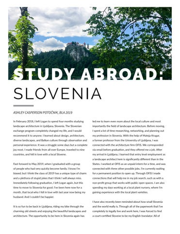 Page 28 of Study Abroad: Slovenia