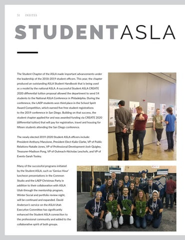 Page 32 of Student ASLA