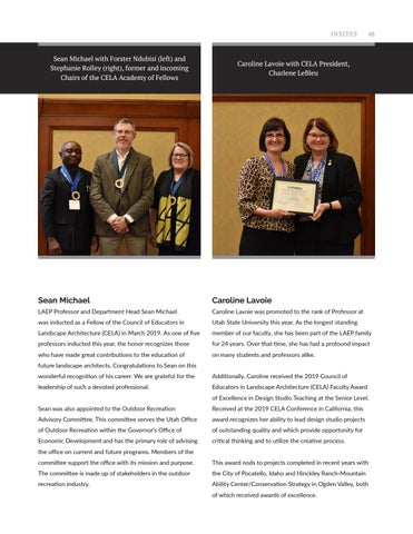 Page 49 of Faculty News