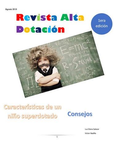 Page 1 of Revista Alta Dotación