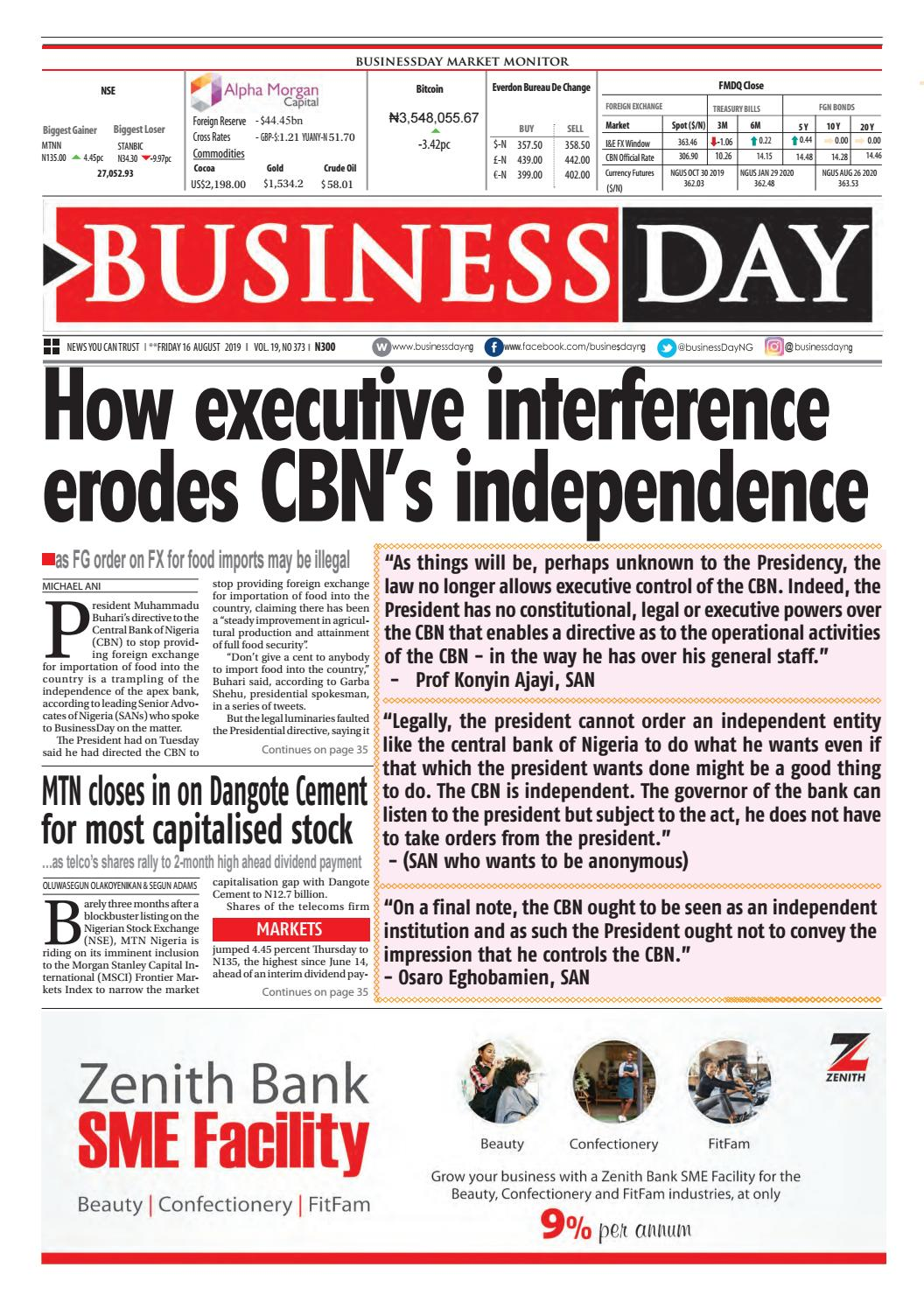 Ancor Coalition Urge Fda To Act On Banning Electronic Shock >> Businessday 16 Aug 2019 By Businessday Issuu