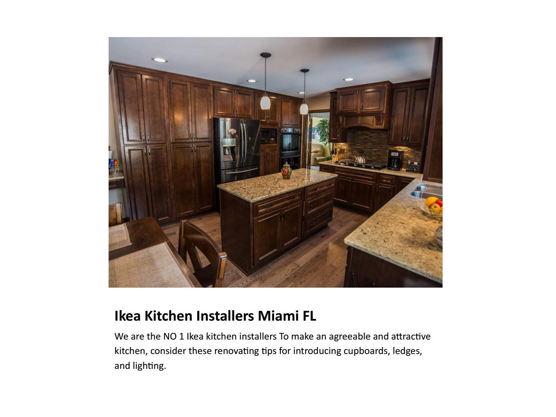 Semihandmade Certified Kitchen Installer Miami Fl By Hollie Taylor Issuu