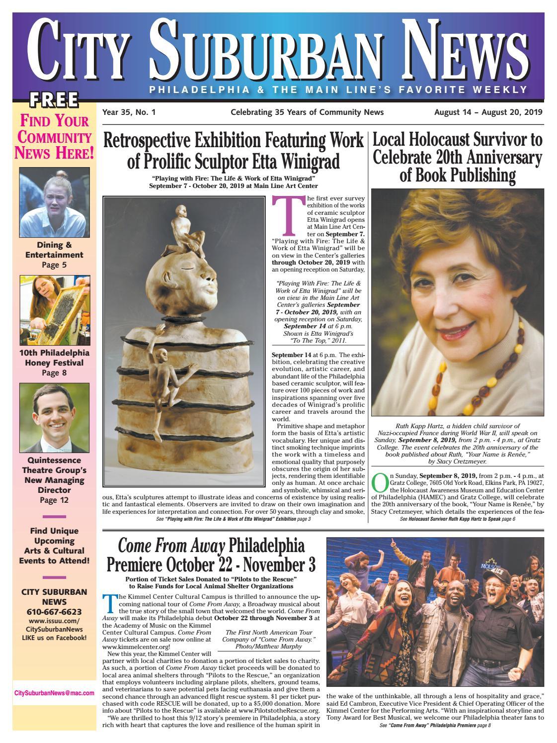 City Suburban News 8 14 19 Issue By City Suburban News Issuu