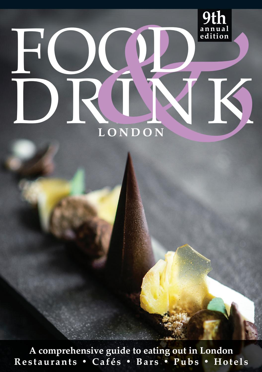 London Food Drink Guide 2019 By Food Drink Guides Issuu