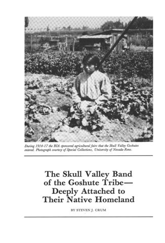 Page 44 of The Skull Valley Band of the Goshute Tribe-Deeply Attached to Their Native Homeland